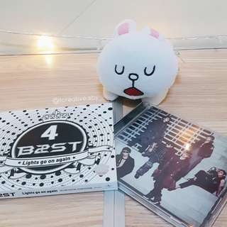 B2ST 4th Mini Album: Lights Go On Again (Deluxe Special Asian Edition)