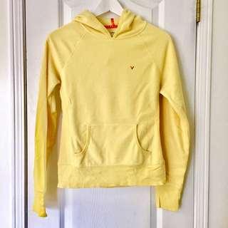 American Eagle Yellow Fleece Sweater