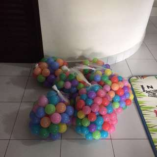 Color lightweight plastic balls for ball pit