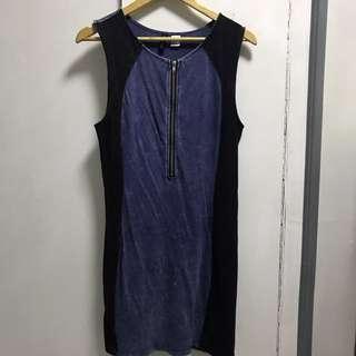 H&M Bodycon cotton dress