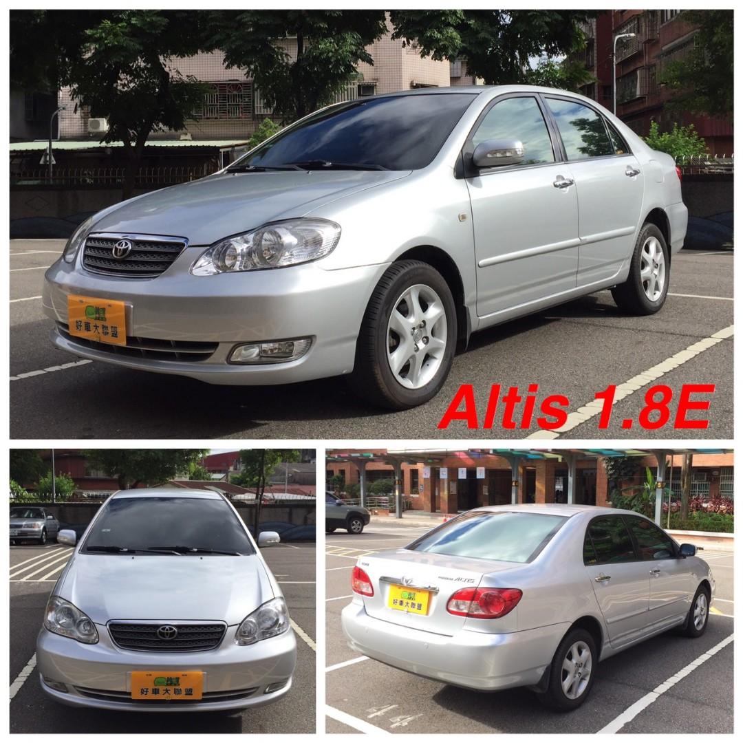這車好好開喔05年Altis 1.8E一手車裡外如新 可分期輕鬆擁有