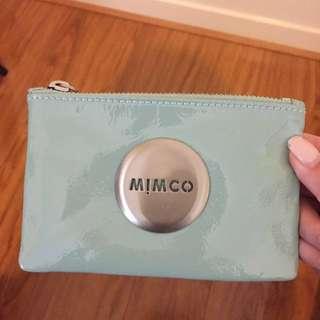 MIMCO Grey-Green Pouch
