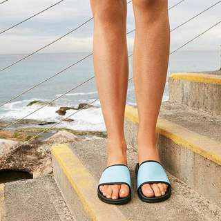 Blue Neoprene Havana Slide