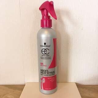 New Heat Protection Spray
