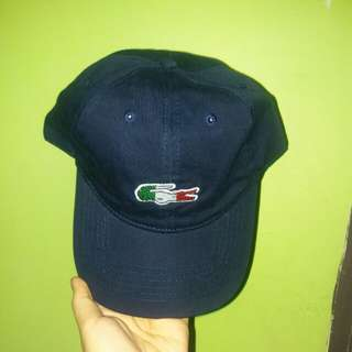 REPRICED!!!! BRAND NEW AUTHENTIC LACOSTE NAVY BLUE CAP