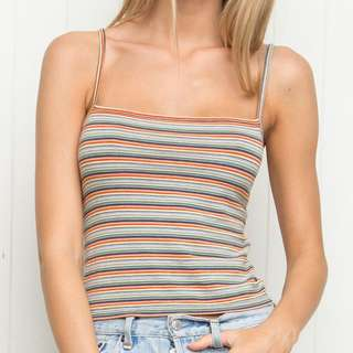 Brandy Melville Rainbow Tank Top