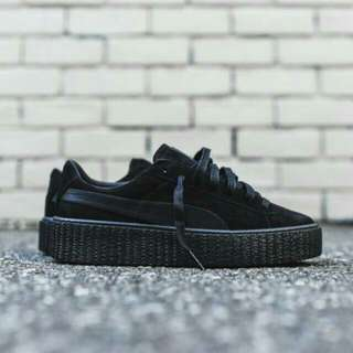BLACK FENTY PUMA CREEPERS