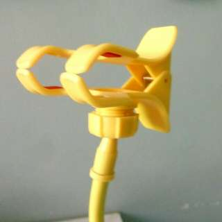 Yellow Clip-on Smartphone Holder
