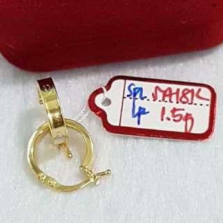 Loop Cartier 18k Saudi gold