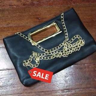 Black Chain strap bag