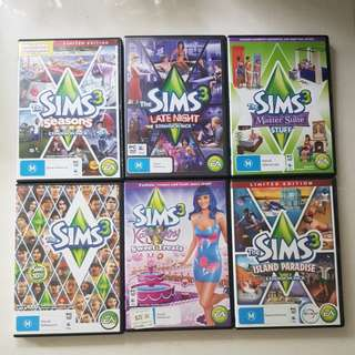 Sims 3 computer games