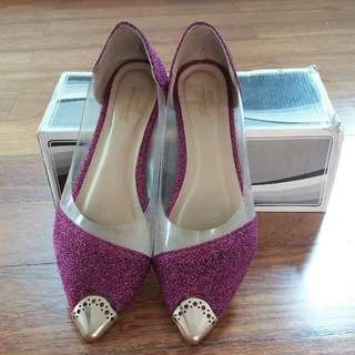 Purple Pink Shoes