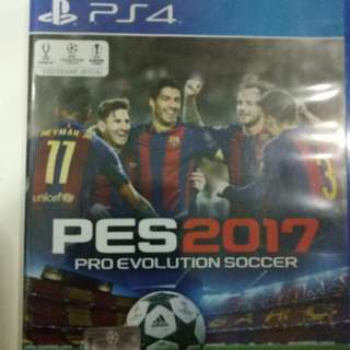 Kaset PS4 Ori. PES 2017