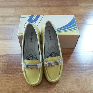 Soft Yellow Shoes Homyped
