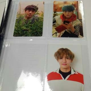 BTS Love Yourself Official Photocard