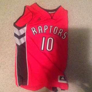 Raptors dense derozen jersey
