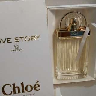 LESS P500!! Authentic Chloe Love Story edp