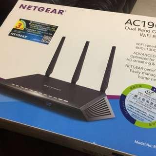 Netgear Wifi Router AC1900 600+1300 Mbps