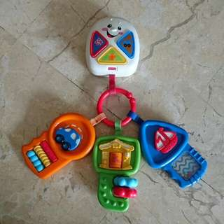 Fisher Price Laugh And Learn Keys Music Cot/Stroller Mattel