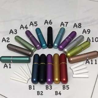 Personal Inhaler Refillable Glass and Aluminium