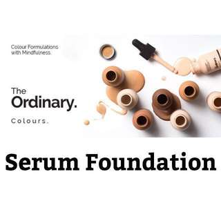 ❄️ The Ordinary ❄️ Colours - Serum Foundation