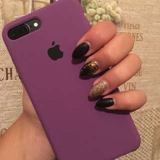 Apple iPhone Silicone Case in New Color Purple