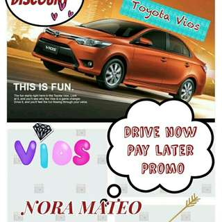 Drive now pay later promo 2,500 low low down payment