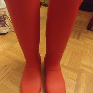 Hunter boots 8/10 condition size 8