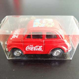 Coca Cola Fiat Toy Car