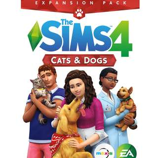 The Sims 4 Cats & Dogs - Origin Games
