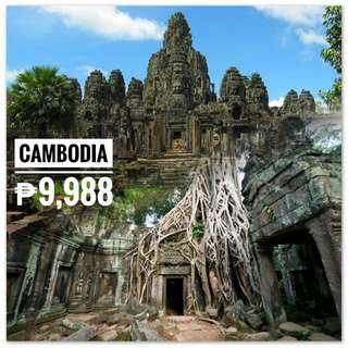 CAMBODIA (SIEM REAP) PACKAGE TOUR SALE