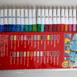 Faber Castell Colouring Pens (30 pcs)