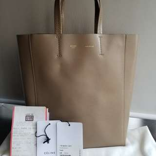 REDUCED!!!! 95% NEW Condition Celine Vertical Cabas Tote Bag