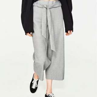 Summer Belt straps wide tube pants straight trousers