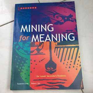 Mining For Meaning Lower Secondary