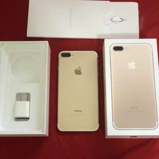 iPhone 7 Plus 128g 金色版本