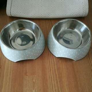 2 x bowls small
