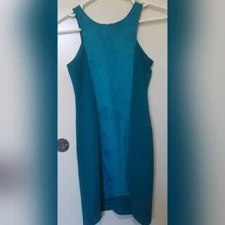 Aqua Green/Blue Dress