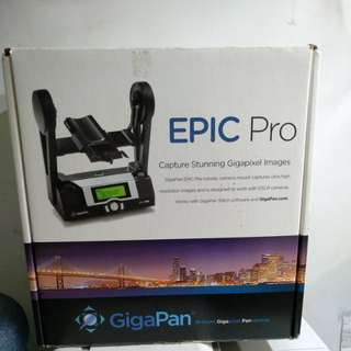 GigaPan Epic Pro - fully working