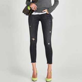 Zara Dark Washed Skinny Jeans
