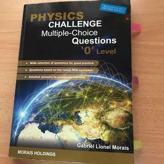Highly recommended O level full physics assessment book