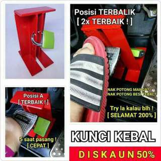 🔐 KEBAL Safety Paddle Lock