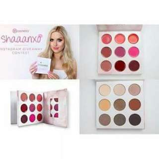 BH Cosmetics Shaaanxo 18-Colors Eyeshadow and Lipstick Palette