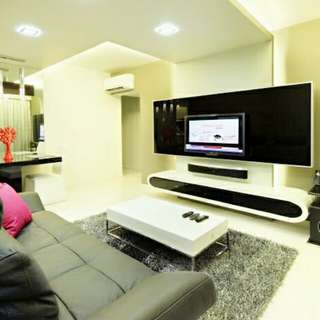 Designer Fully Renovated 3 beds High Floor Unblocked Corner