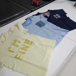 3 Piece Baju Kaos