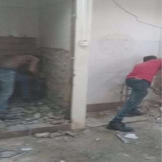 Floor Tile Removal/Hacking