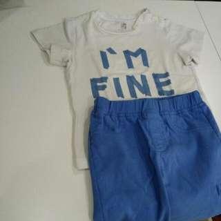 Baju Set Dg Celana