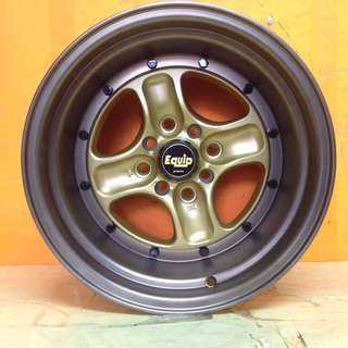 15 inch NEW SPORT RIM EQUIP-40 STAGGERED DESIGN
