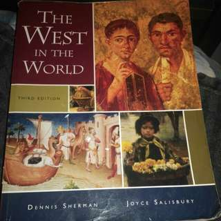 the west in the world (3rd edition)