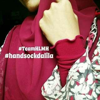 Handsock Dalila Ruffles